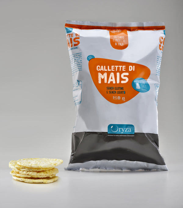 Gallette di Mais Bio (12 x 150 g)