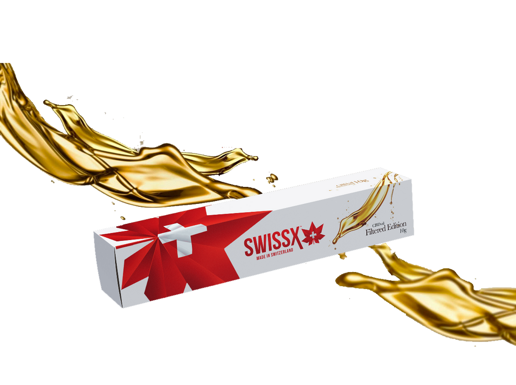 SWISSX CBD OIL MADE FROM HEMP