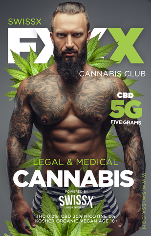 SWISSX FXXX CANNABIS CLUB BOX (1-Time delivery)
