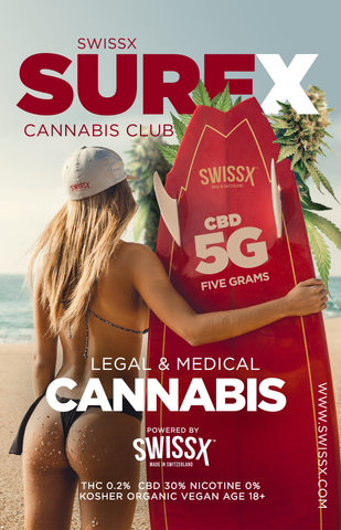 SWISSX SURFX CANNABIS CLUB BOX