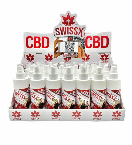 Swissx CBD Lotion - Case of 25