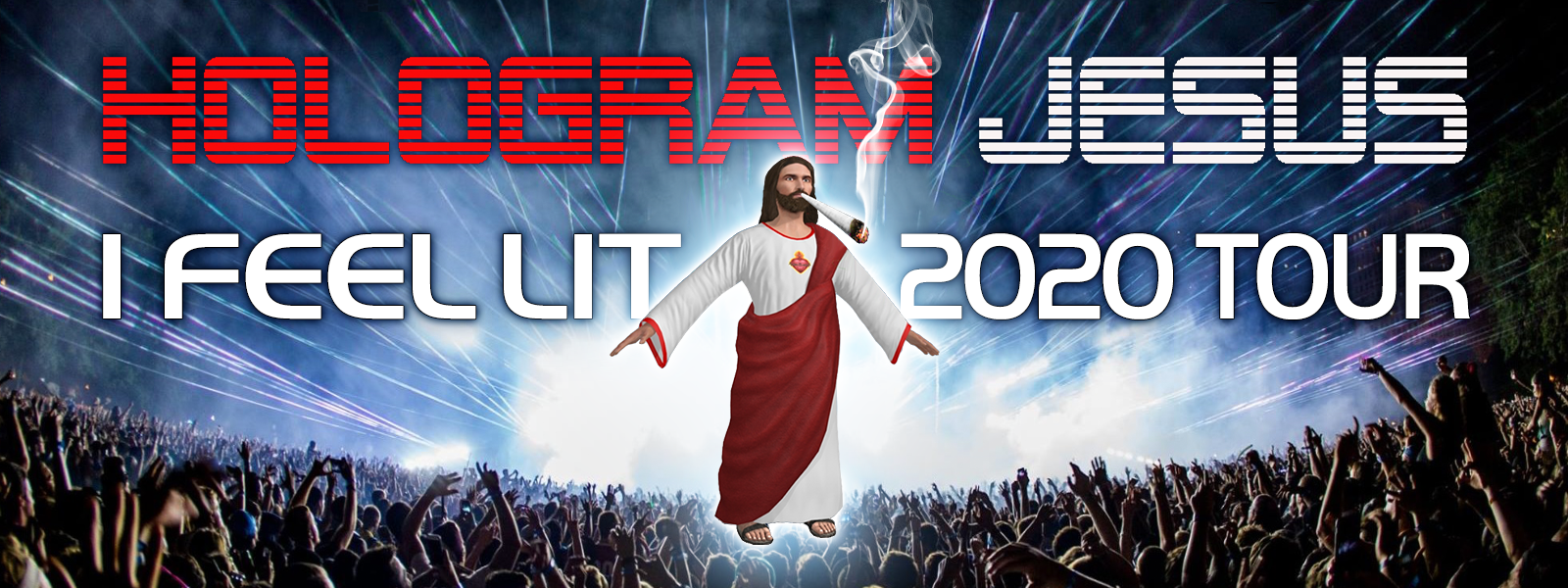 Hologram Jesus is Coming to Malibu This Easter Sunday, Saturday & Sunday April 12, 2020