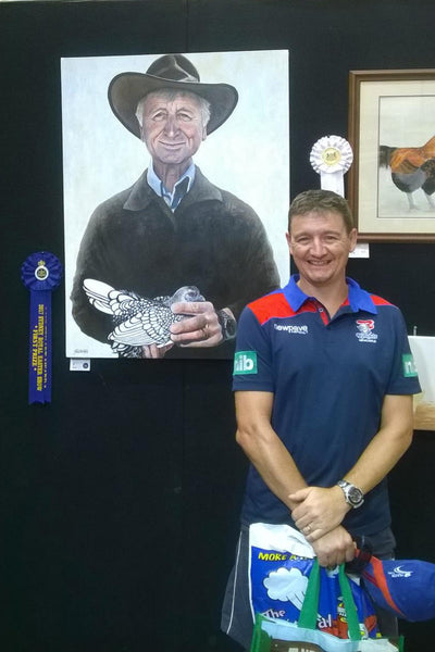 Royal Easter Show Poultry Art Prize winner!