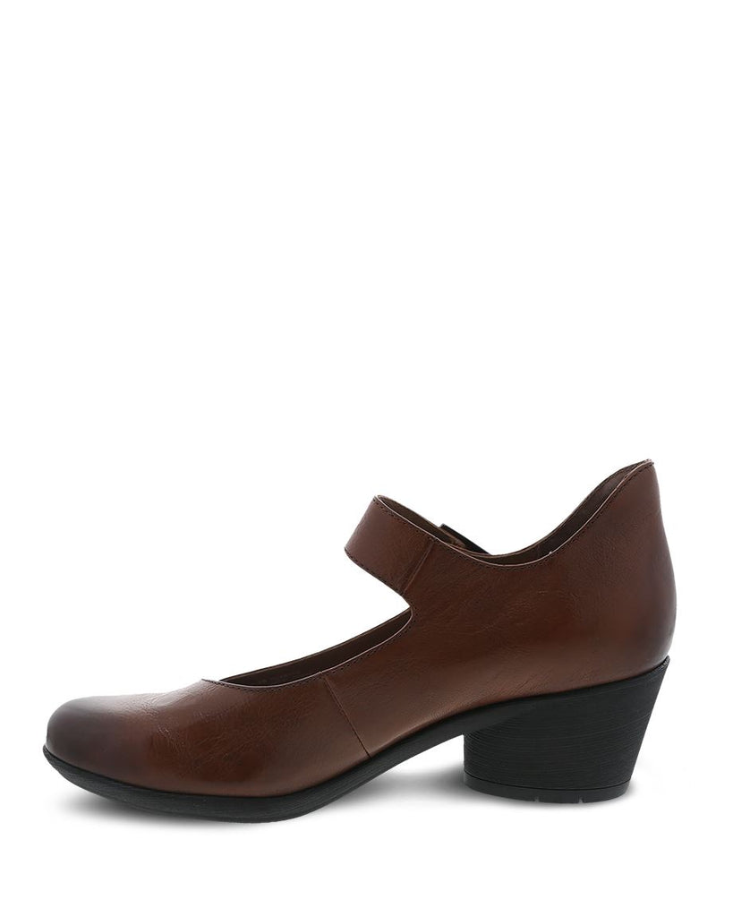 Dansko Roxanne (Chestnut Burnished Calf)