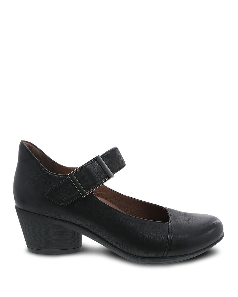 Dansko Roxanne (Black Burnished Nubuck)