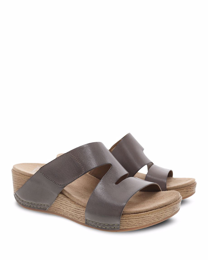 Dansko Lacee Taupe Burnished Calf