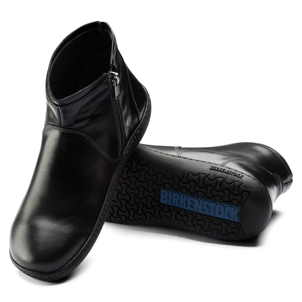 Birkenstock Bennington (Black Leather)