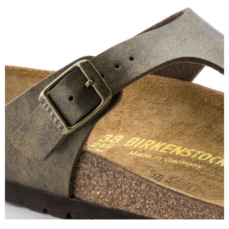 Birkenstock Gizeh Birko-Flor (Golden Brown)