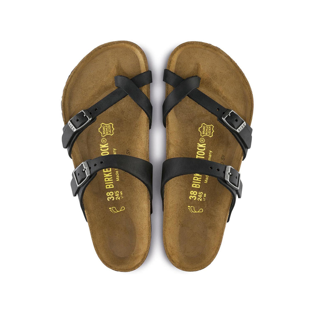 Birkenstock Mayari Oiled Leather (Black)