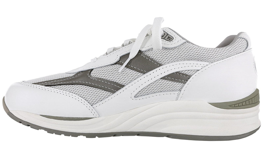 SAS Men's Journey Mesh (White/Gray)