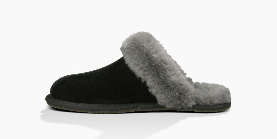 UGG Women's Scuffette II (Black/Grey)