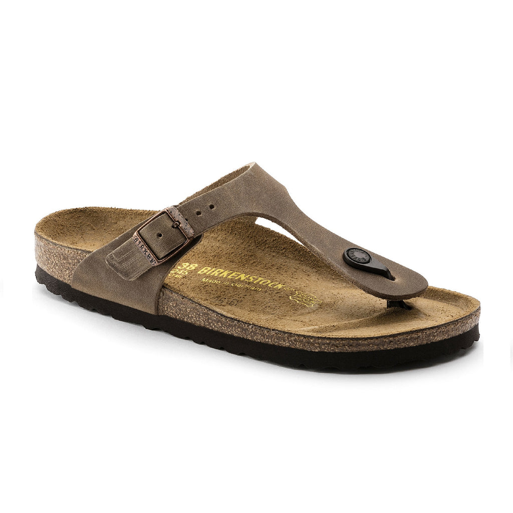 Birkenstock Gizeh Oiled Leather (Tabacco Brown)