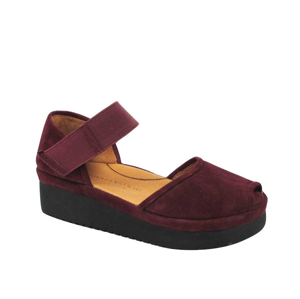 L'AmourDesPieds Amadour (Mulberry Suede)