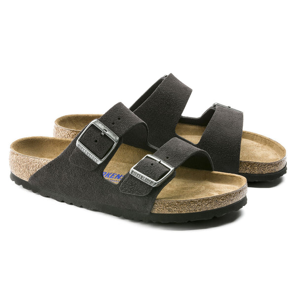 Birkenstock Arizona Suede Leather (Velvet Grey)