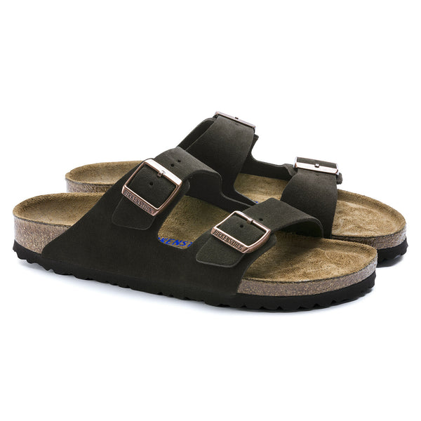 Birkenstock Arizona Suede Leather (Mocha)