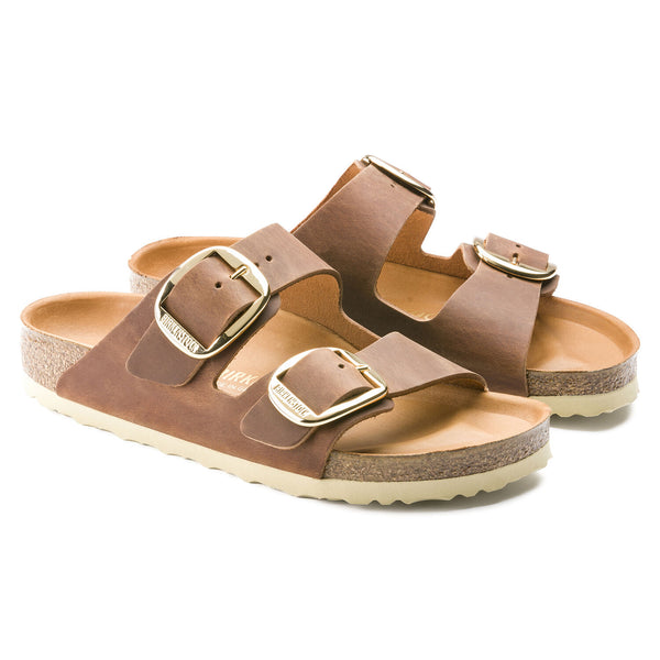 Birkenstock Arizona Big Buckle (Cognac)