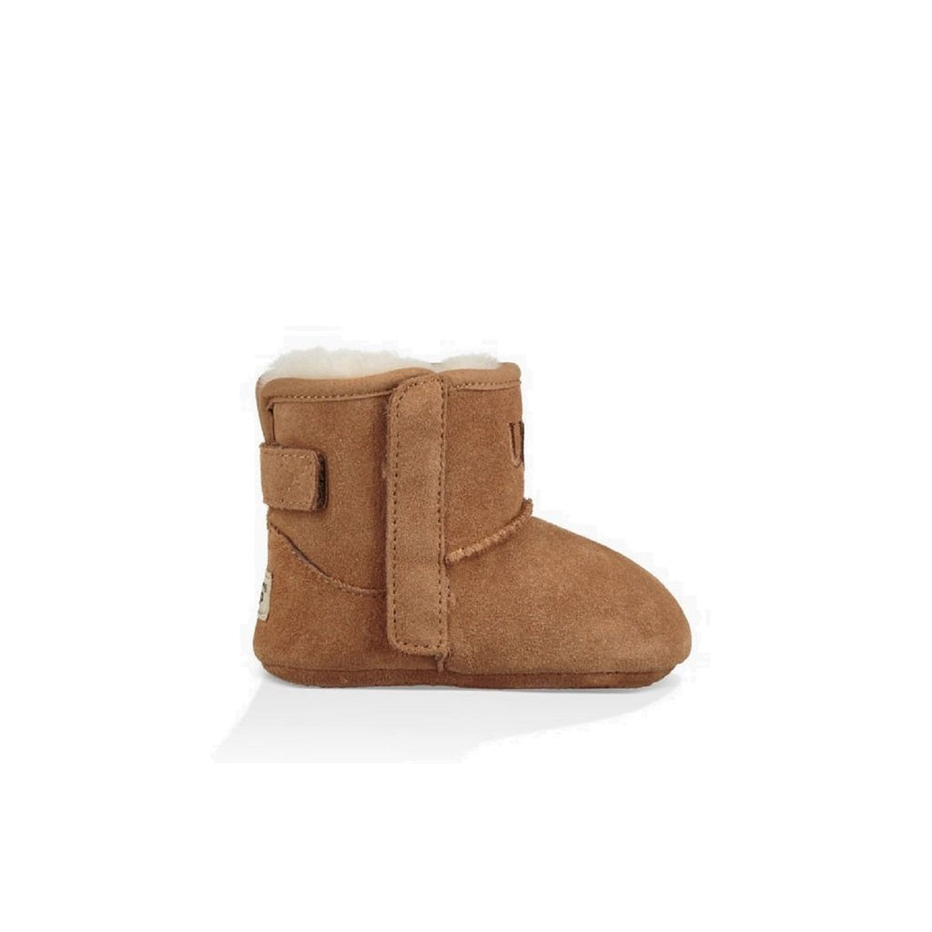 Adorable chestnut bootie for toddlers.