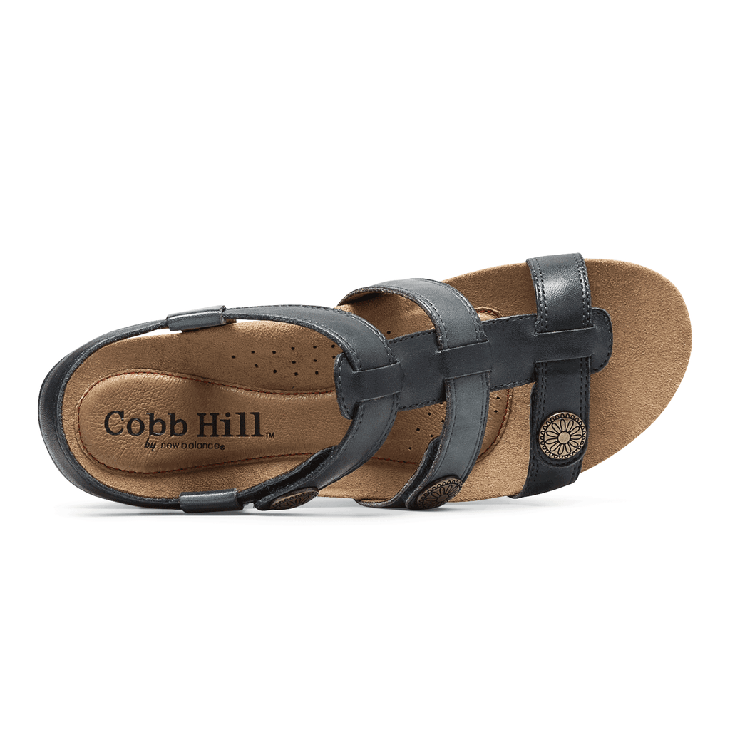 Cobb Hill Harper Adjustable Sandal (Blue)