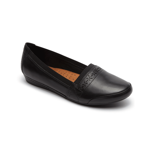 Cobb Hill Gigi Slip On (Black)
