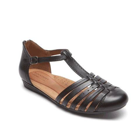 Cobb Hill Galway Strappy Toe (Black)