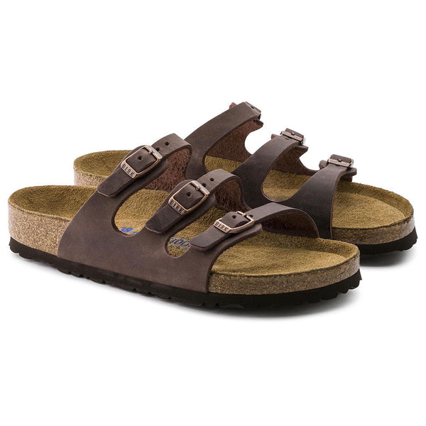Birkenstock Florida Soft Footbed Oiled Leather (Habana)