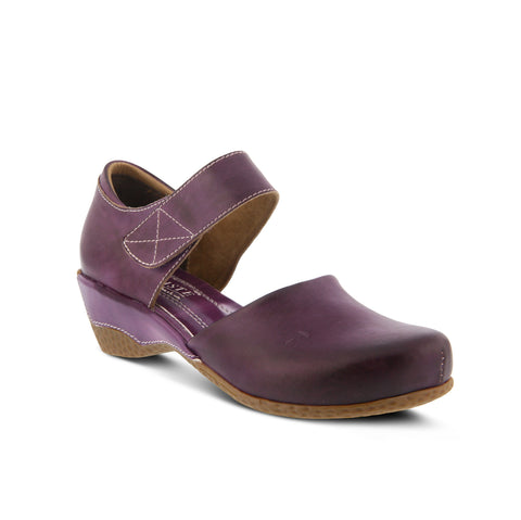 L'Artiste Gloss Mary Jane Shoe (Purple)