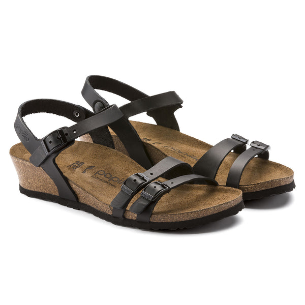 Birkenstock Papillio Lana Leather (Black)