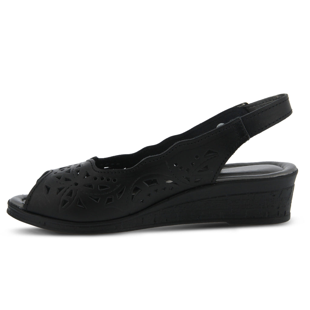 Spring Step Orella (Black Leather)