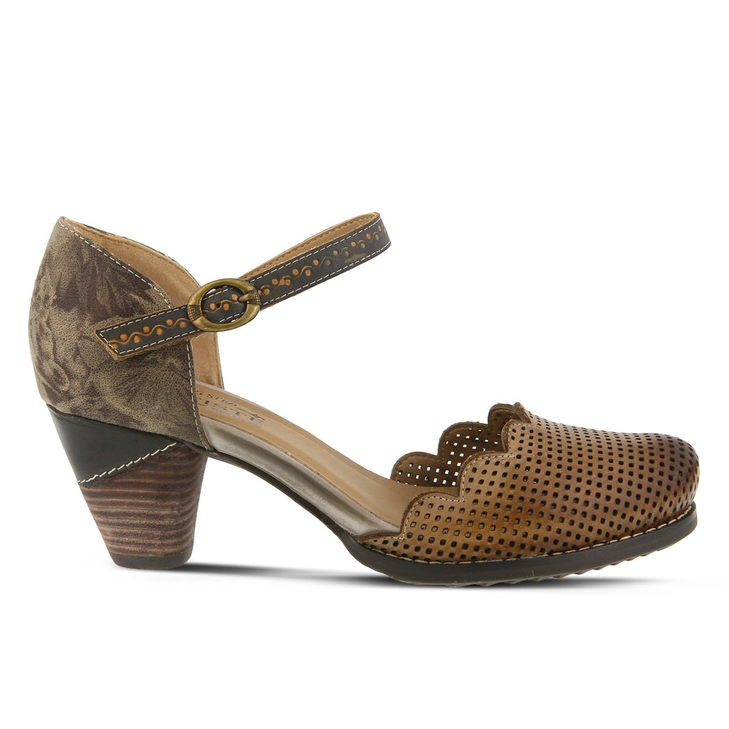 L'Artiste Parchelle Mary Jane Shoe (Gray Multi)