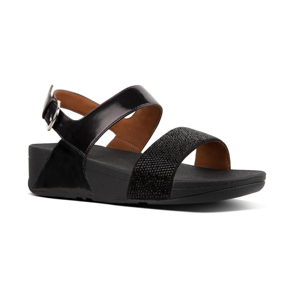 Fitflop RITZY™ Back-Strap Sandals (Black)