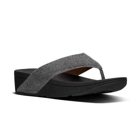 Fitfop RITZY™ Toe-Thong Sandals (Pewter)