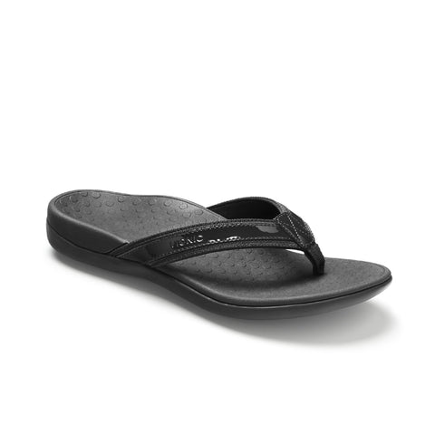 Vionic Tide II Toe Post Sandal (Black)