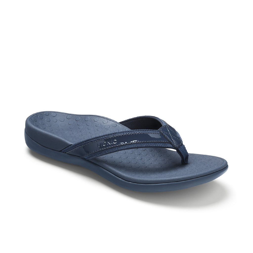 Vionic Tide II Toe Post Sandal (Navy)