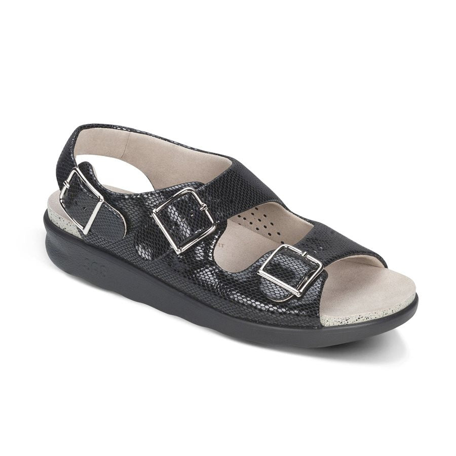 SAS Shoes Relaxed (Black Snake)