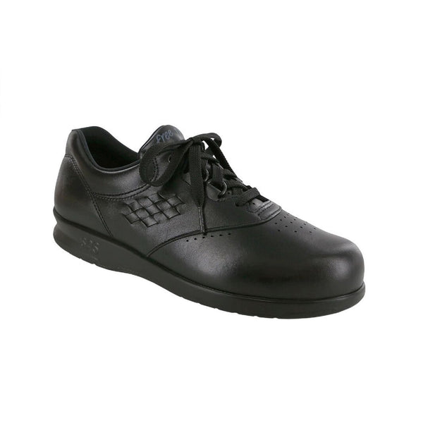Lace up slip resistant shoe.