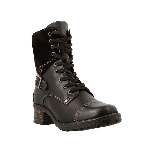 Taos Women's Crave Combat Boot (Black)