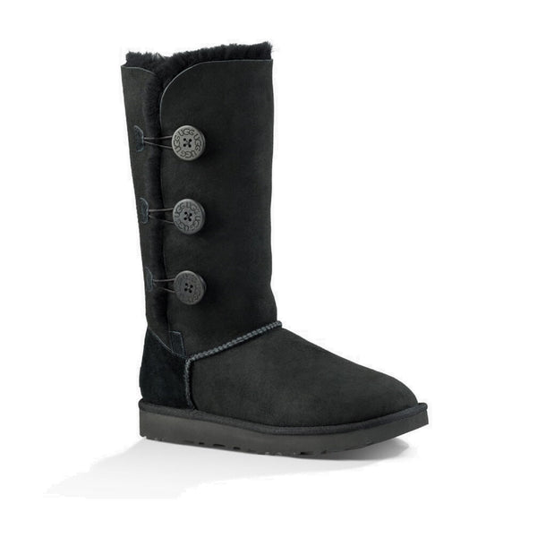 UGG Bailey Button Triplet II (Black)