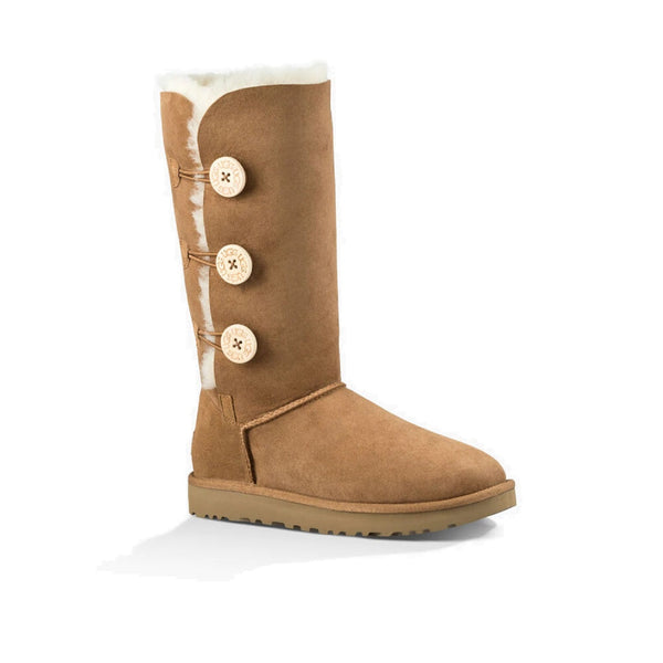 UGG Bailey Button Triplet II (Chestnut)