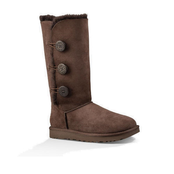 UGG Bailey Button Triplet II (Chocolate)