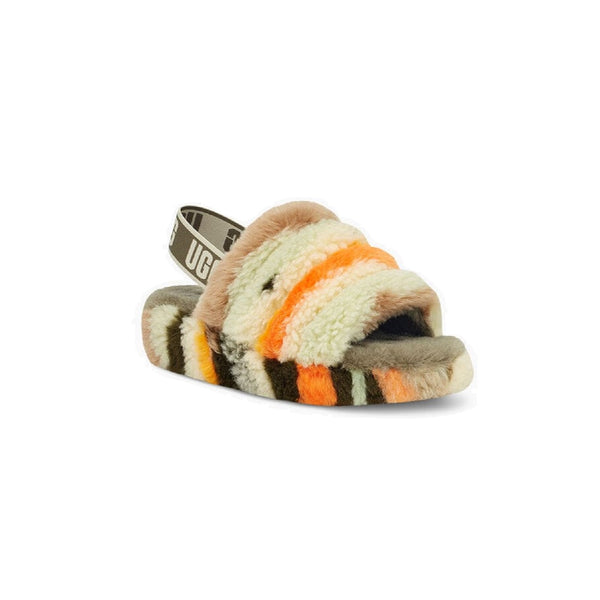 UGG Fluff Yeah Slide Cali Collage (Olive)
