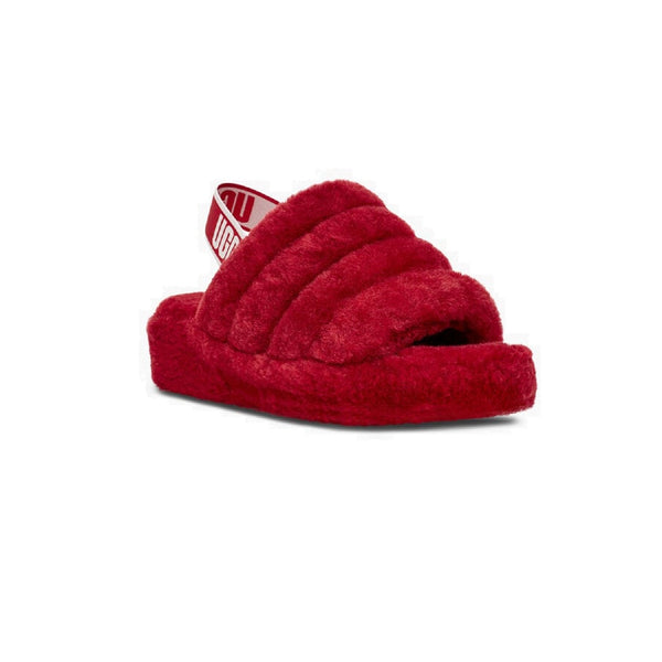 UGG Fluff Yeah Slide (Ribbon Red)