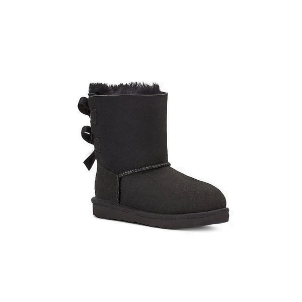 UGG Kids' Bailey Bow II (Black)