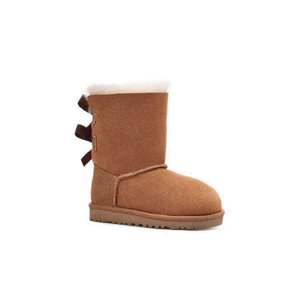 UGG Kids' Bailey Bow II (Chestnut)