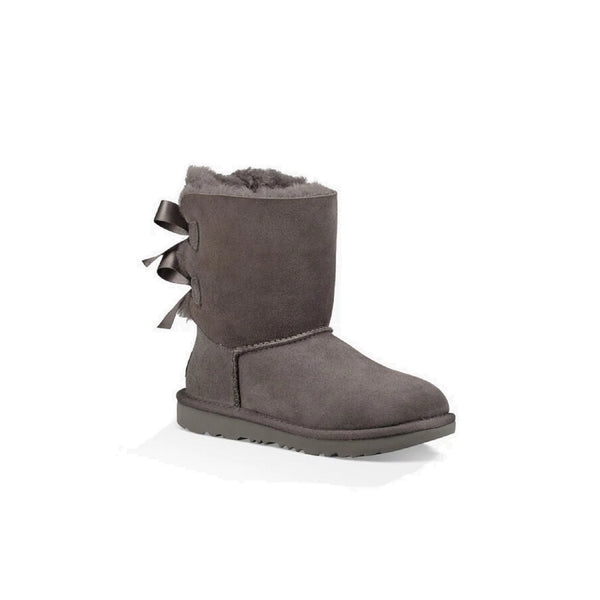 UGG Kids' Bailey Bow II (Grey)