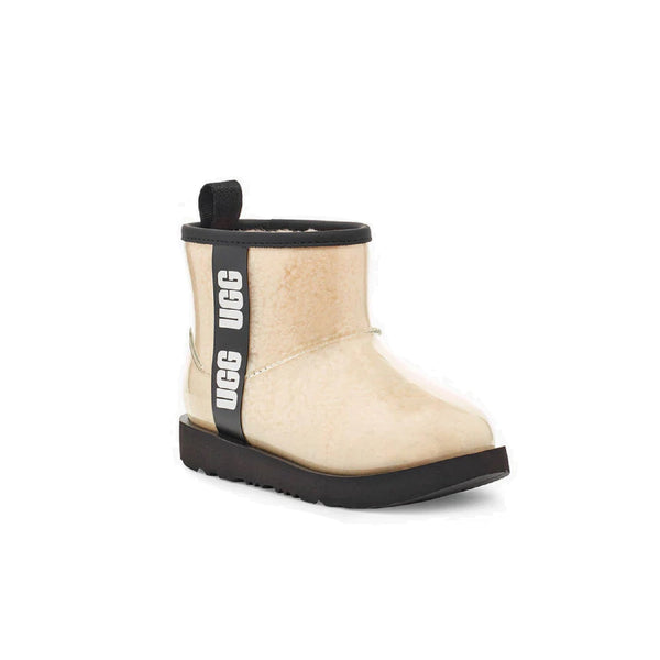 UGG Kids' Classic Clear Mini II (Natural/Black)