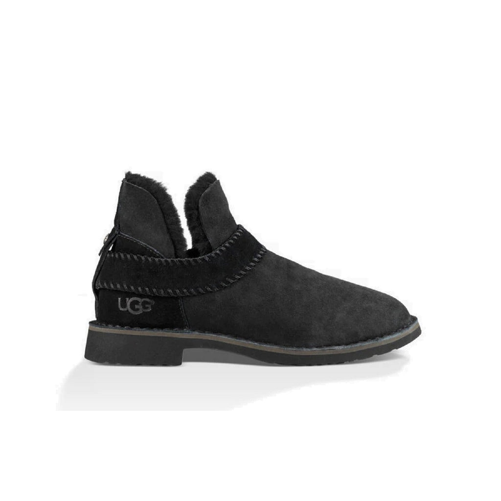 Ugg ankle boot in black.
