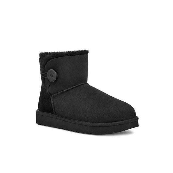 UGG Women's Mini Bailey Button II (Black)