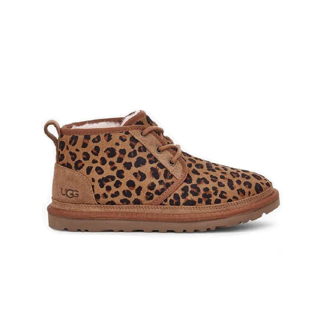Women's Neumel boot in leopard print.