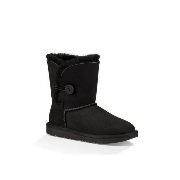 UGG Kids' Bailey Button II (Black)