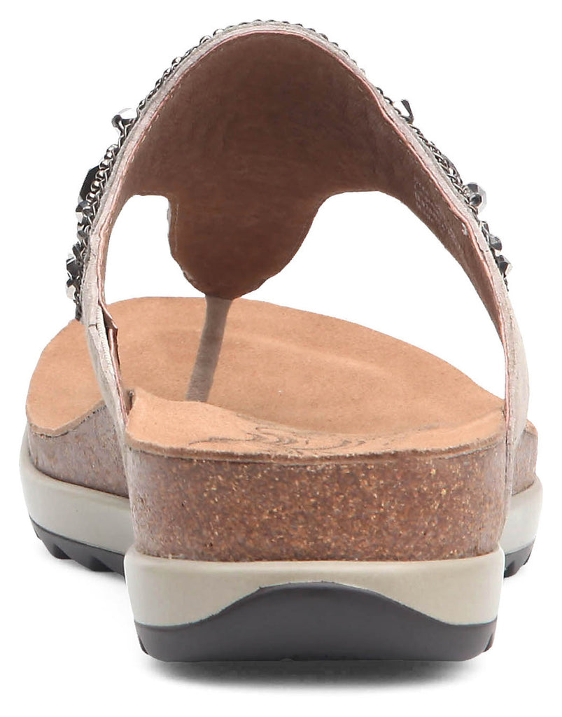 Dansko Pamela (Taupe Jewelled Suede Leather)